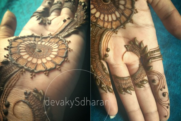 Mehndi Designs And S : Henna designs and bridal patterns by devaky s dharan